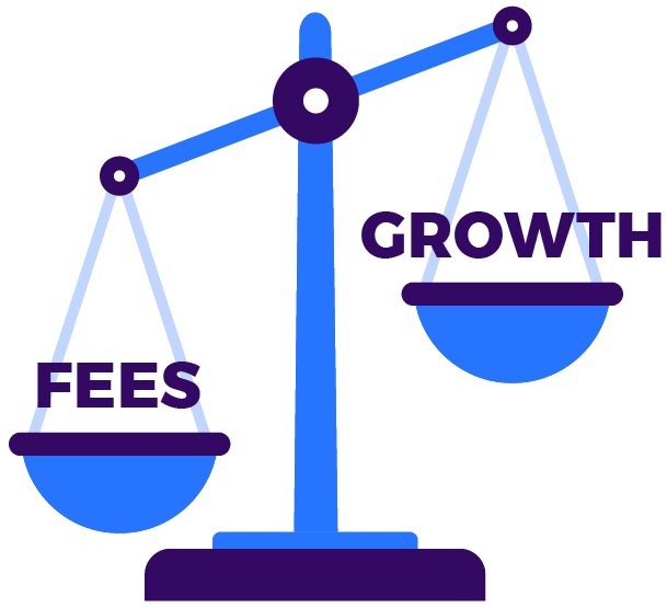 scales fees & growth